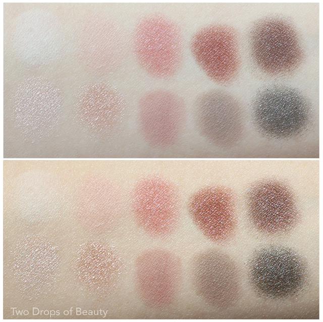 essence With roses in love swatches