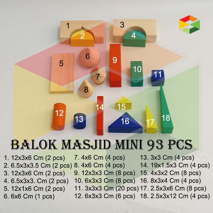 Balok Masjid Mini
