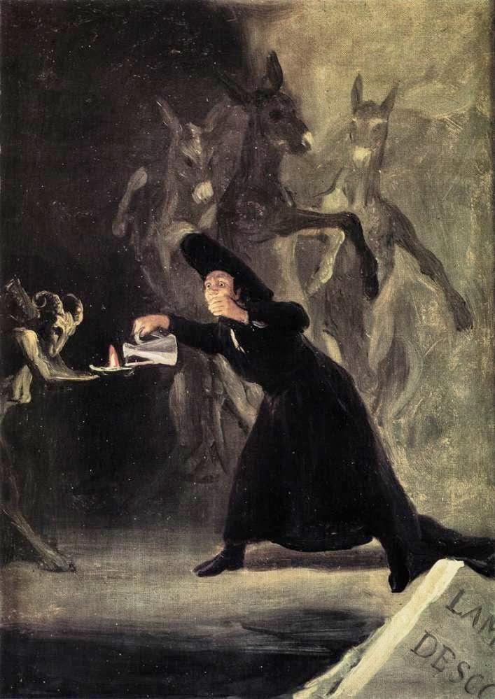 O Homem Enfeitiçado - Goya, Francisco e suas pinturas ~ Foi um importante pintor espanhol da fase do Romantismo