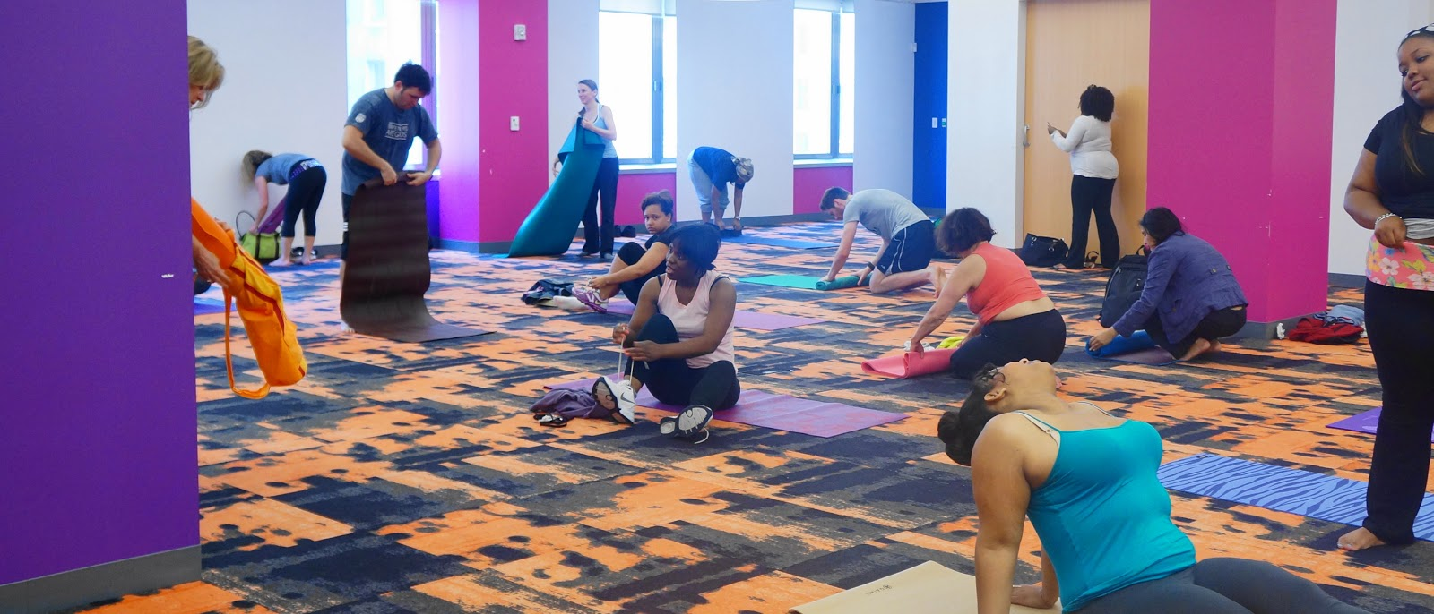 Melanin Luxe: Get It Right: Red Lotus Yoga