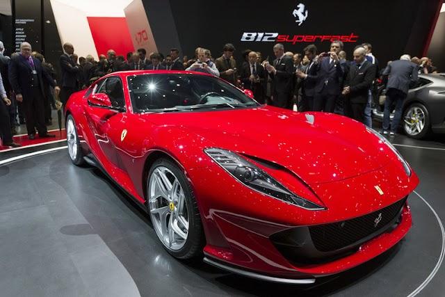 Ferrari 812 Superfast Mainan Baru Orang Kaya Siap Masuk Indonesia