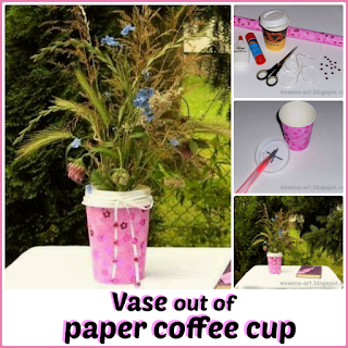CoffeeCupVase wesens-art.blogspot.com