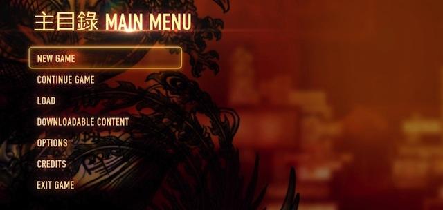 Десять заповедей для видеоигровых меню.