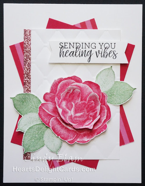Heart's Delight Cards, Healing Hugs, Get Well, Distinktive, Stampin' Up!