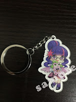 MLP Fake Equestria Girls Keychain Twilight Sparkle