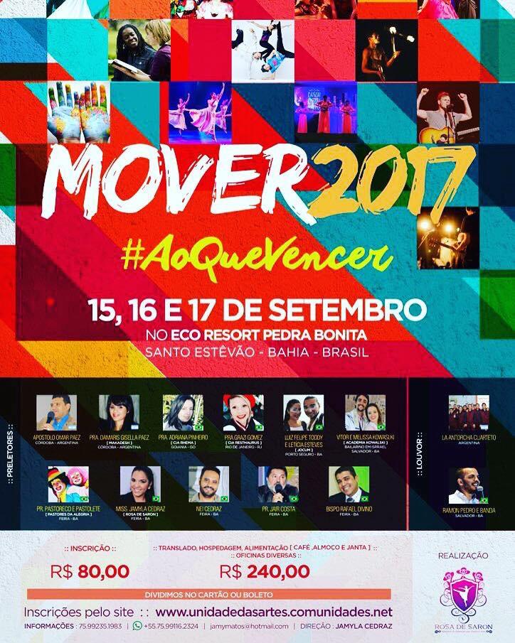 Vem aí: Acampamento Mover 2017, Blog Dança Cristã, Por: Milene Oliveira