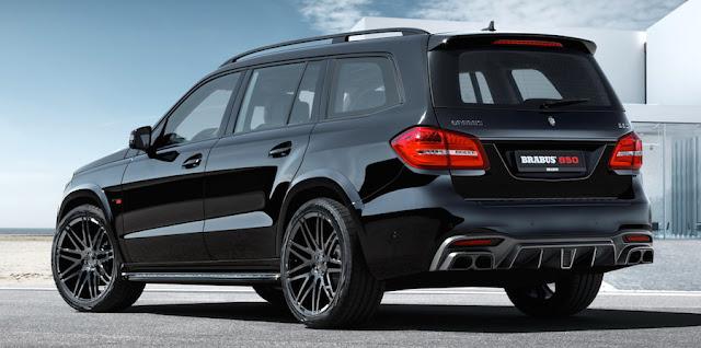ブラバスが「メルセデスAMG GLS63」を850馬力にカスタムした「ブラバス850XL」を発表。