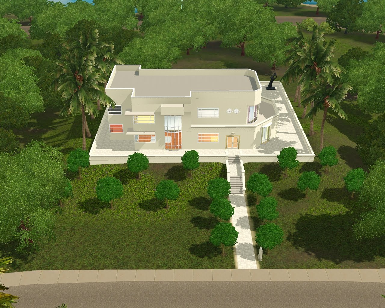 Summer's Little Sims 3 Garden