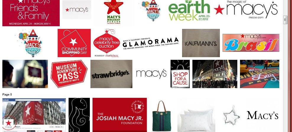 british dept store logos