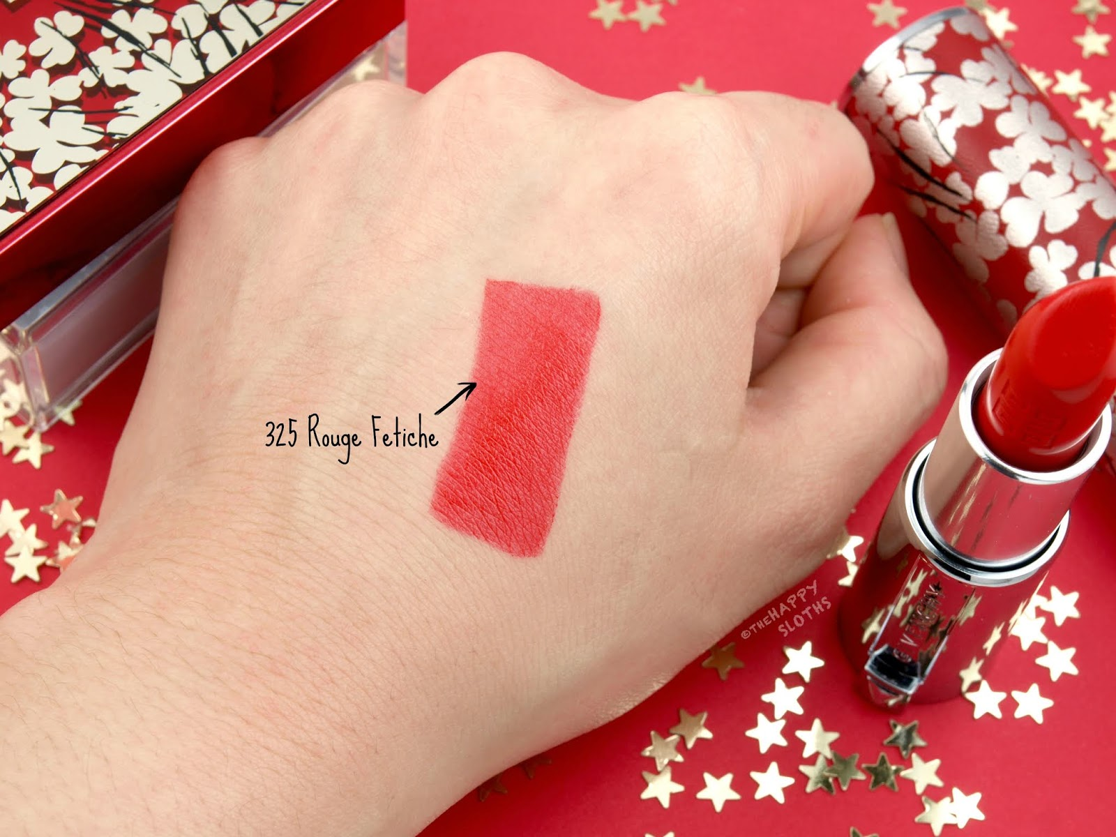 "Givenchy | 2019 Lunar New Year Edition Le Rouge Lipstick in ""325 Rouge Fetiche"": Review and Swatches"