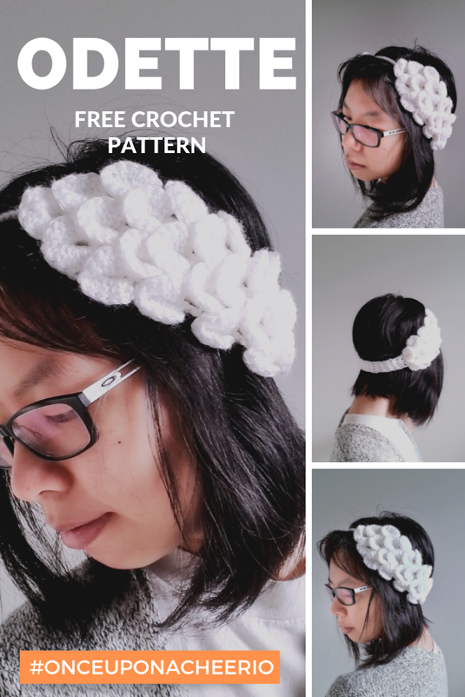 Odette (Swan Lake) Ear Warmers FREE Crochet Pattern