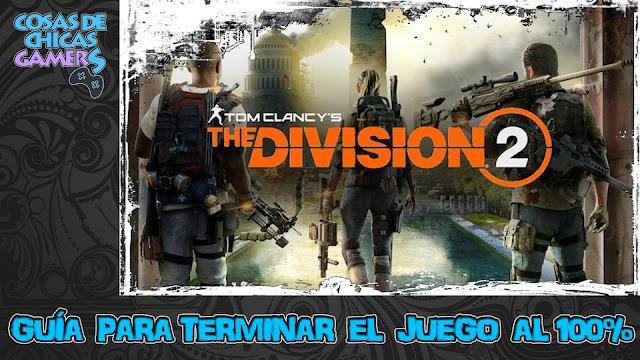 Guía para completar The Division 2