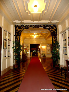 entrance at Hotel Alejandro Tacloban