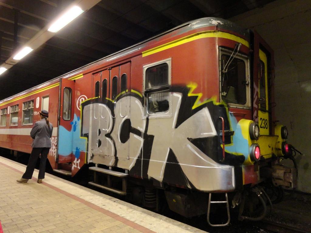 BCK - SERUE FUINE ABOS Art On Train