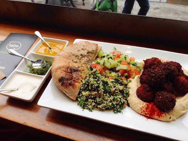 Restaurante vegetariano Taïm