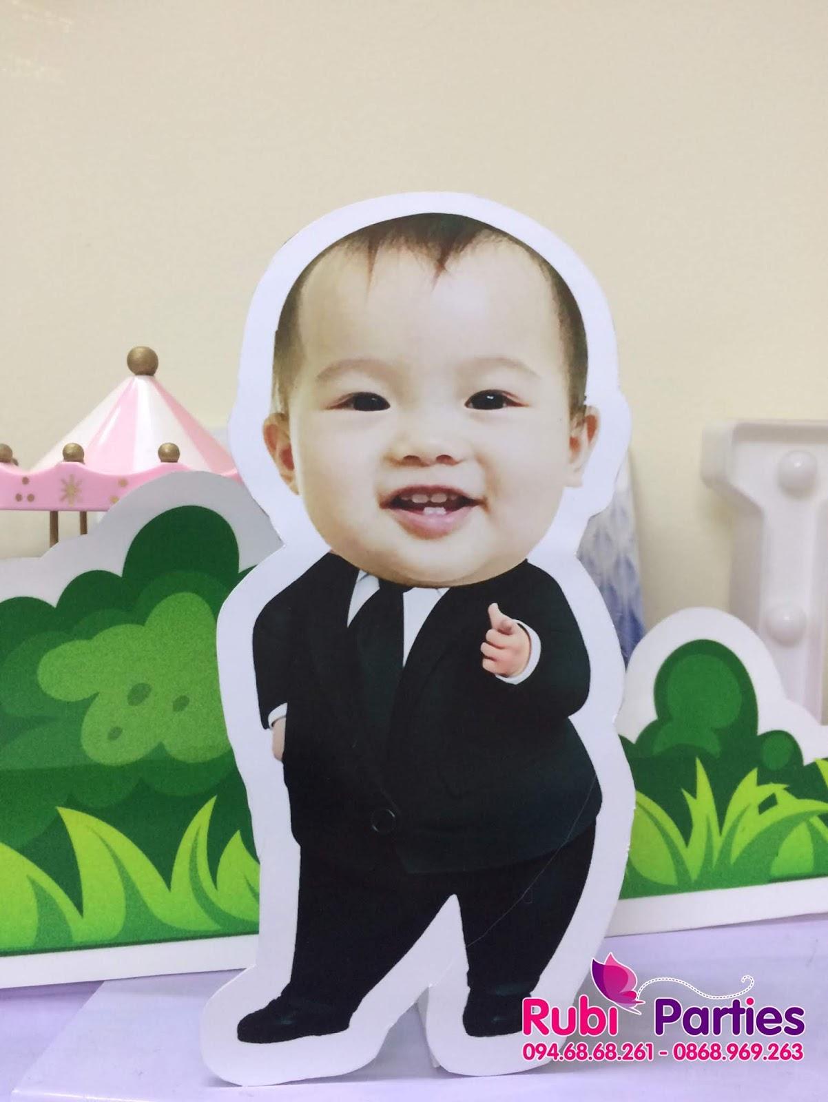 thiet ke chibi sinh nhat cho be tai dong da