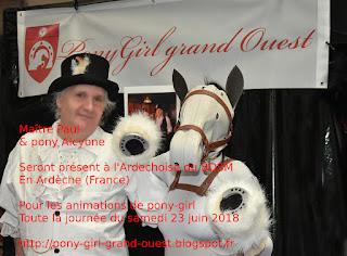 Maître Paul & pony Alcyone