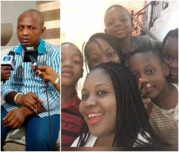Image result for Notorious kidnap kingpin Evans wife and kids crying