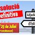 28/29 Juliol: Resolució definitiva adjudicacions d'estiu (Previsió)