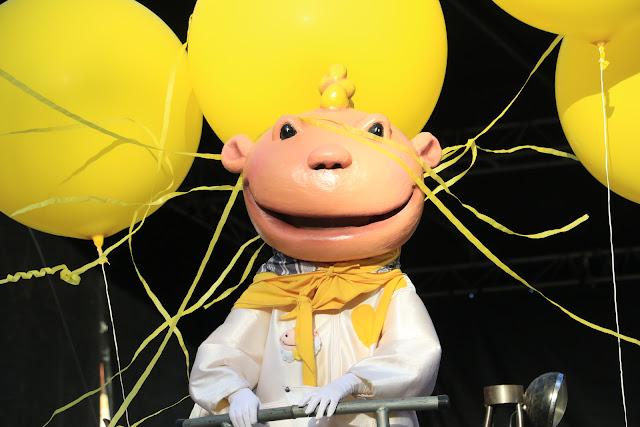 La mascota de las fiestas de Barakaldo, Jolín