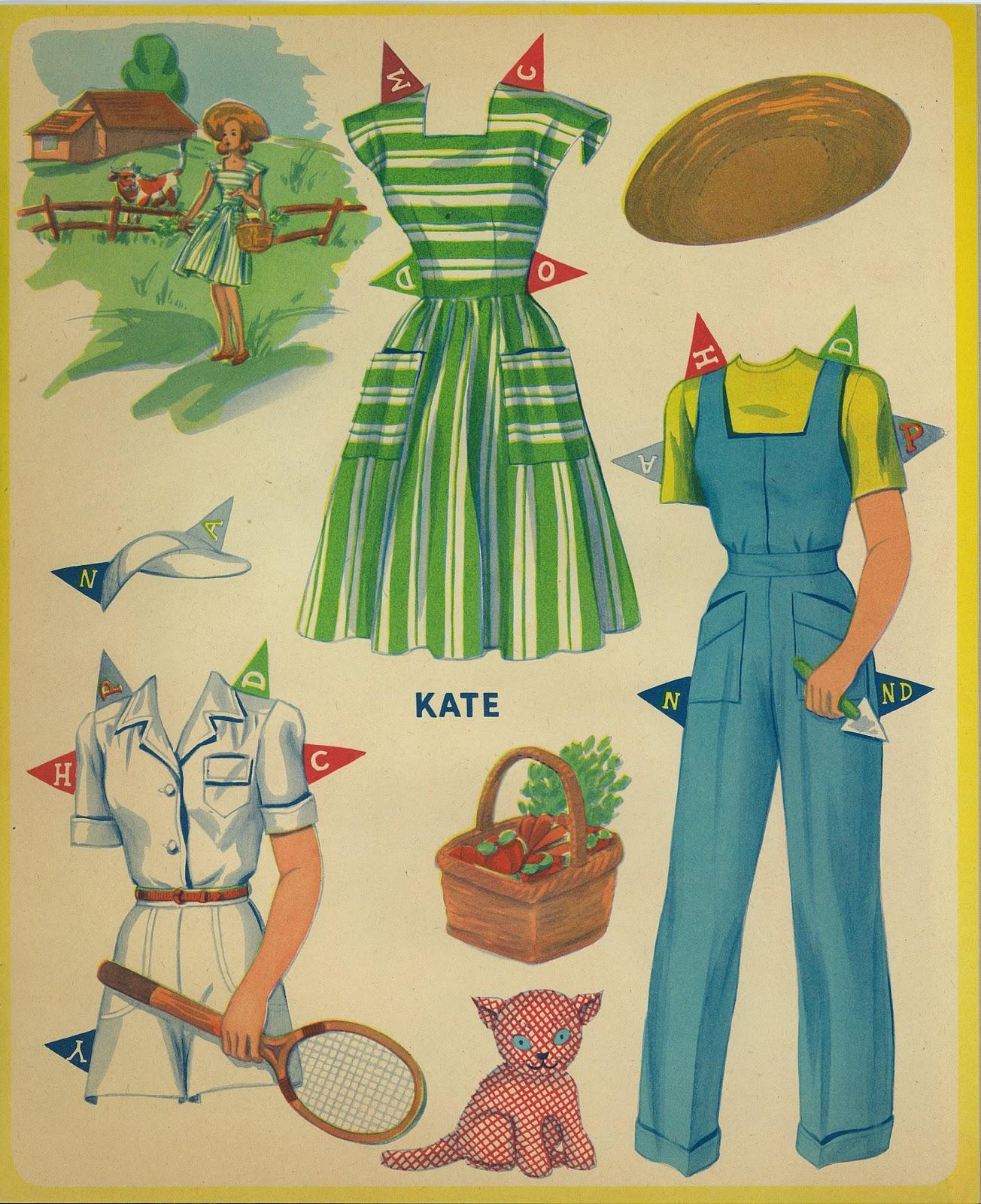 Miss Missy Paper Dolls: Clothes Crazy