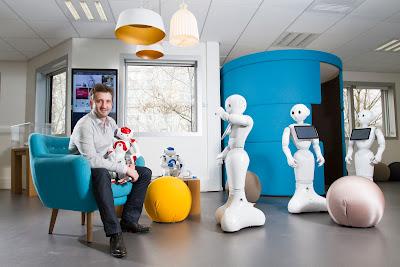 [2016未來商務] Aldebaran Robotics––隱藏在軟銀Pepper機器人背後的功臣