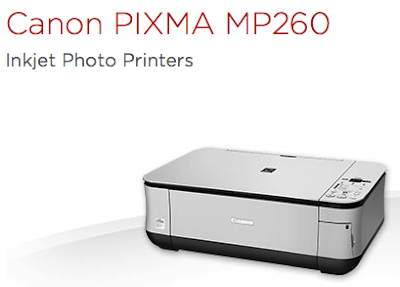 Canon PIXMA MP260 printer