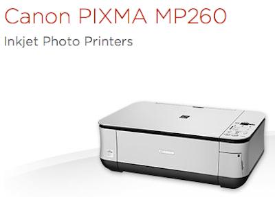 Canon PIXMA MP260 printer