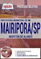 Apostila Prefeitura de Mairiporã 2017 Inspetor de Alunos
