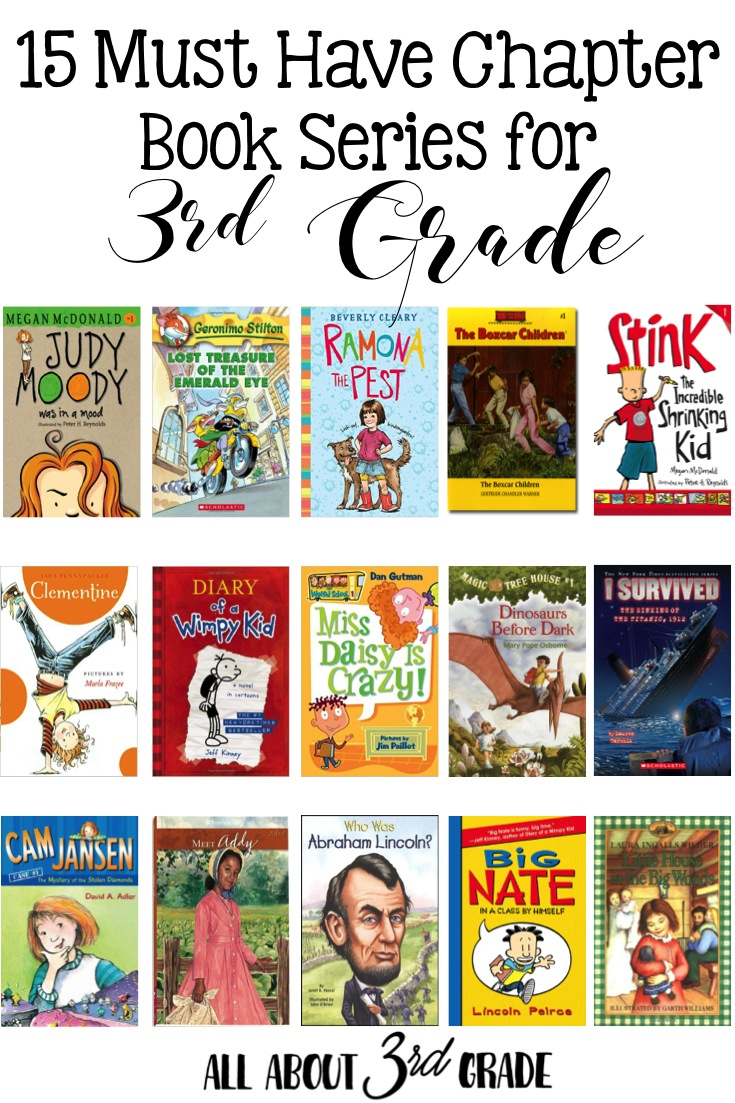 15 Must Have Chapter Book Series All About 3rd Grade