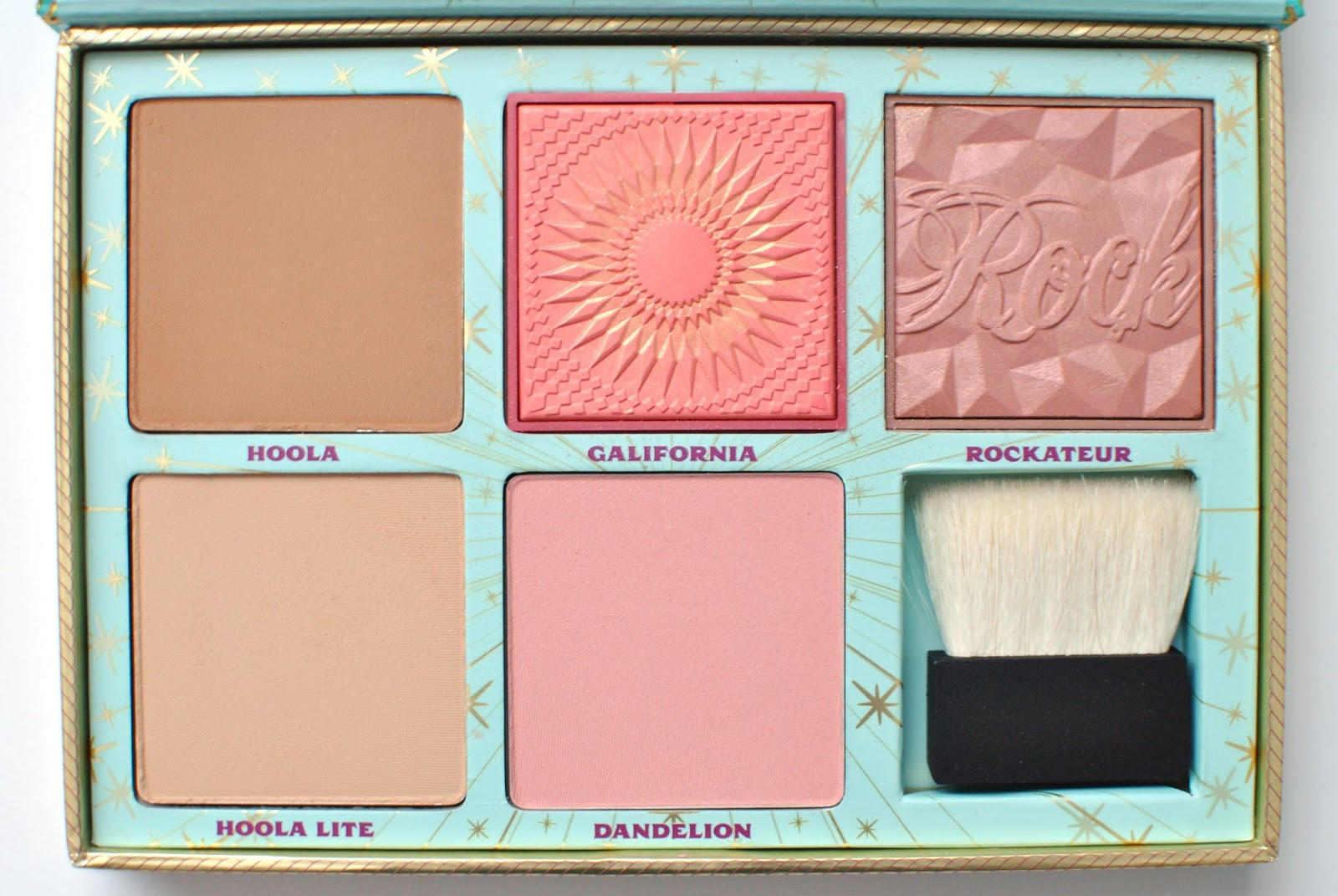 beauty benefit cheek parade blush palette review swatches orane boucher. Black Bedroom Furniture Sets. Home Design Ideas