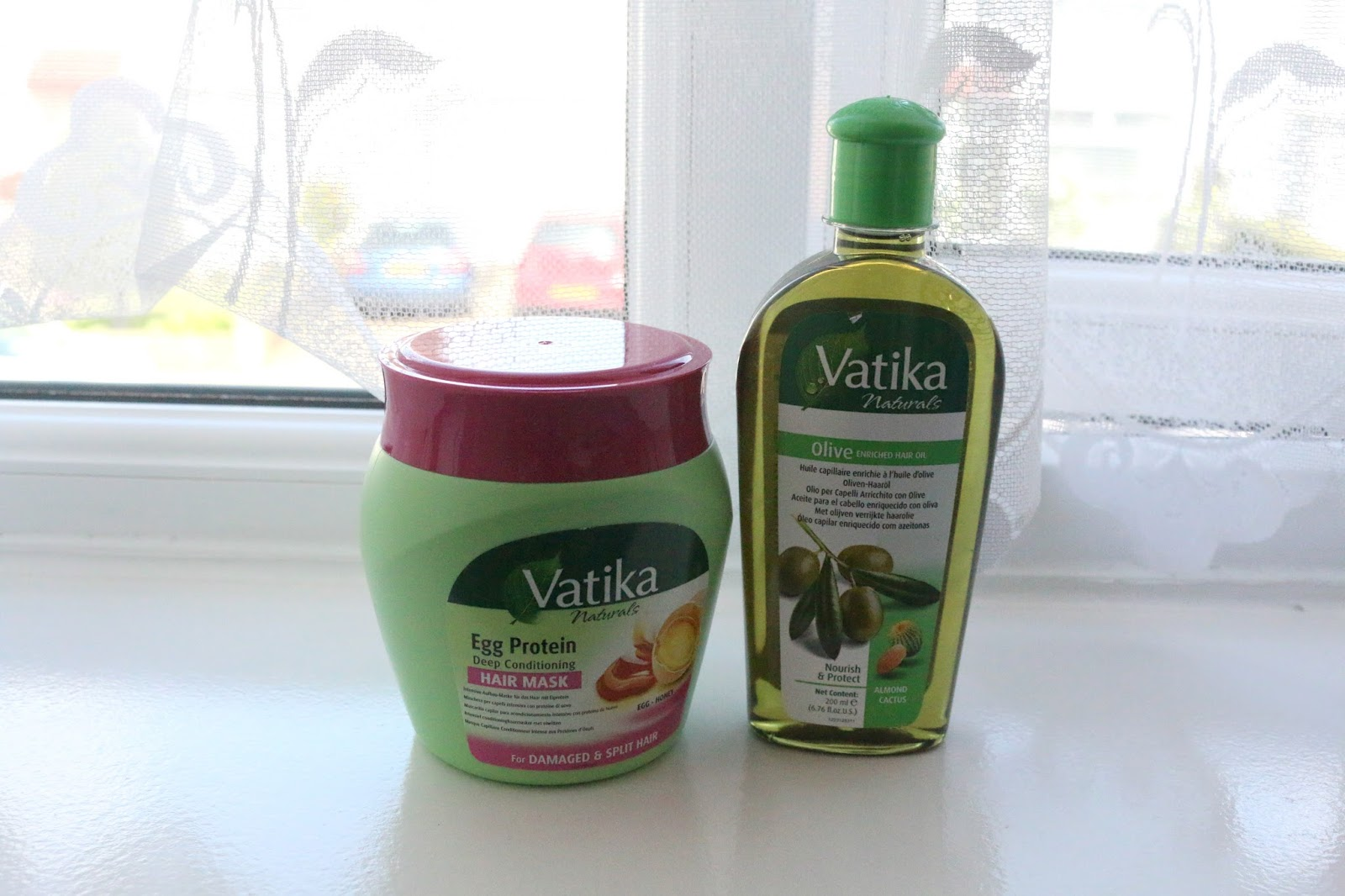Bittersweet : Vatika Naturals Hair Oil and Hair Mask