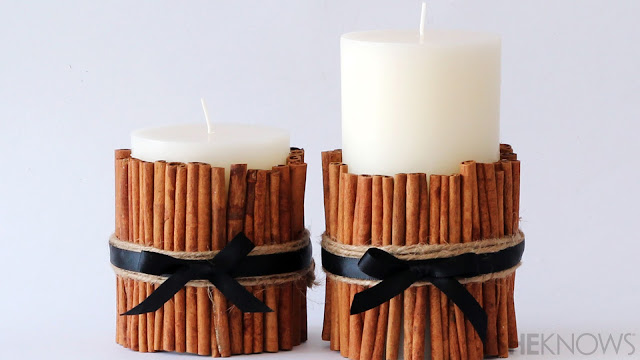 Ioanna's Notebook - DIY Cinnamon scented candle