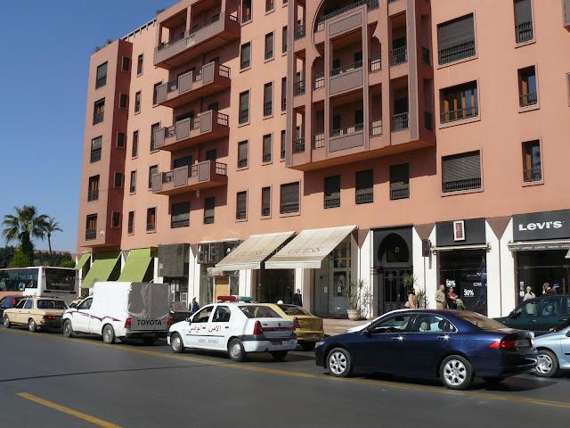 zona nueva de marrakech