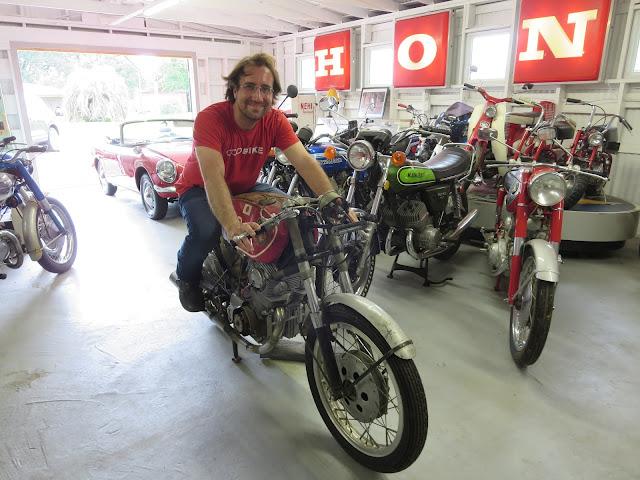 Hideo Pops Yoshimura 1962 Honda CB72 Jason Cormier OddBike