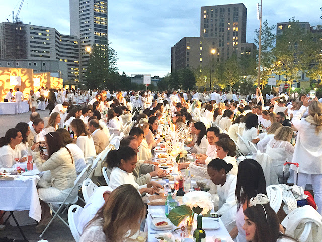 Diner en Blanc London - UK lifestyle blog