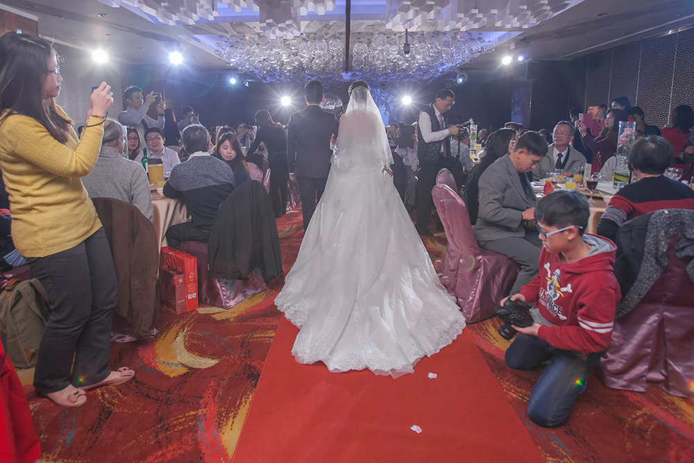 推薦婚禮錄影晶宴婚禮攝影作品