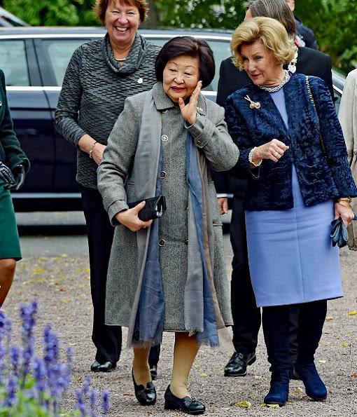 President Tony Tan Keng Yam of Singapore and his wife Mrs. Mary Tan in Norway
