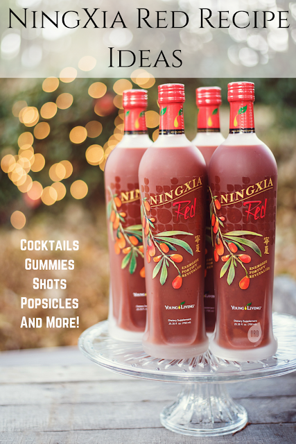 Fun NingXia Red Ideas #recipes #cocktails #mocktails #popsicles #gummies #shots #health #wellness
