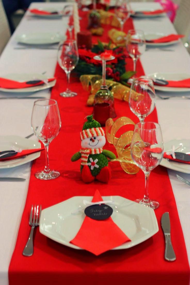 Como Arrumar Uma Mesa De Natal Simples E Bonita