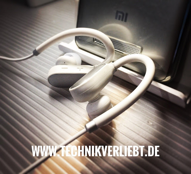 Technikverliebt - Gadget: Xiaomi Wireless Bluetooth 4.1 Music Sport Earbuds / Kopfhörer.  *Meine Xiaomi Wireless Bluetooth 4.1 Music Sport Earbuds - White @ GearBest Shop.