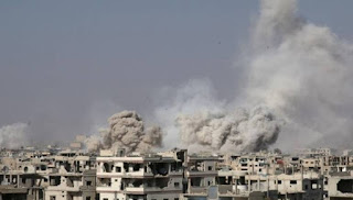 Allahu Akbar! Jet Tempur Rezim Asad Ditembak Jatuh di Dekat Damaskus