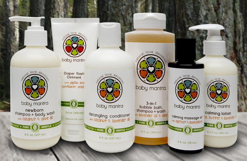 Susan Heim on Parenting: Baby Mantra Skin and Hair Care