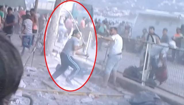 Εκτός ελέγχου οι λαθρομετανάστες στη Λέσβο: Άγριες συμπλοκές μεταξύ τους στο λιμάνι