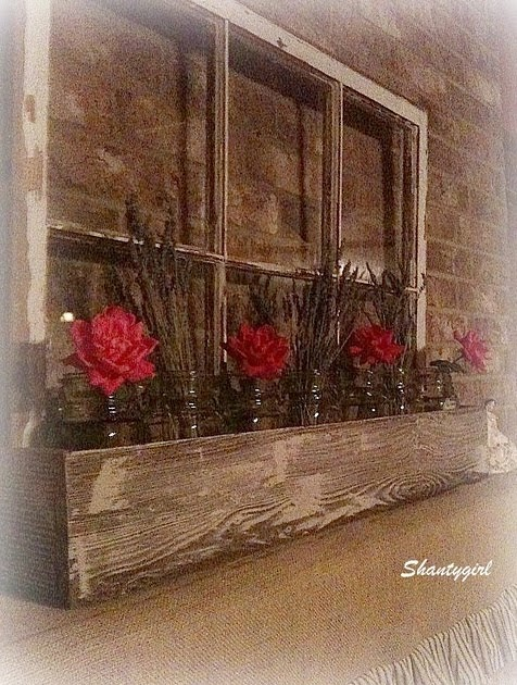 Someday Crafts: Vintage Window With Planter Box