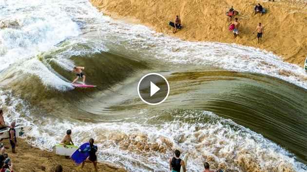 ALL TIME WAIMEA RIVER SURFING Jamie O Brien