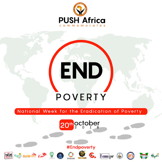 PUSH Africa Powers A National Walk For World Poverty Eradication Day
