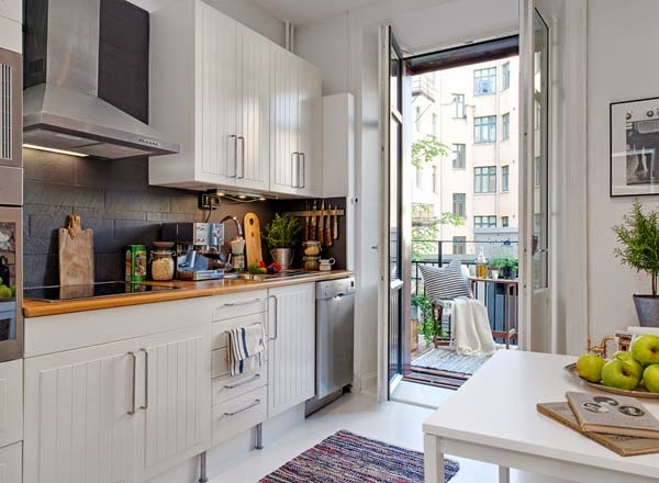 Ciptakan Ilusi Lebih Banyak Ruang Dengan Pencahayaan Desain Dapur Kecil Minimalis Sederhana