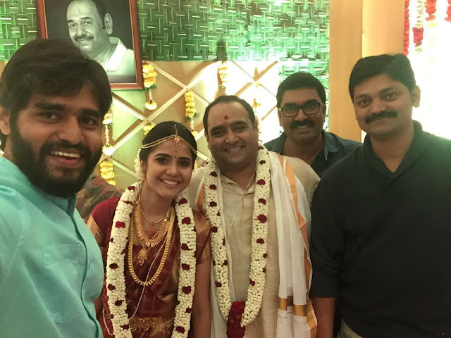 Director Vikram Kumar Wedding Photos