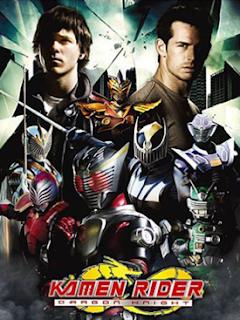 capa do dvd de Kamen Rider O Cavaleiro Dragão